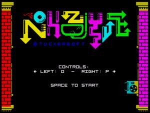 Nohzdyve - Startscreen