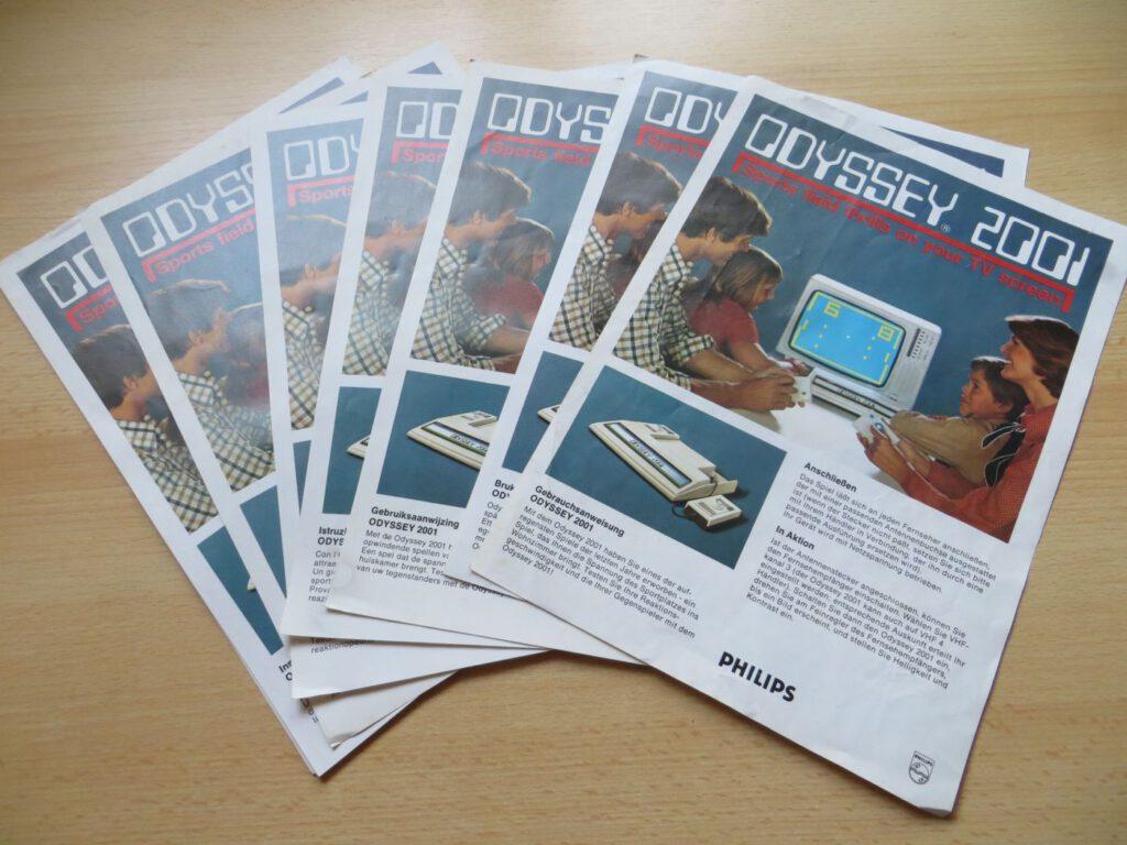 Odyssey 2001 - Anleitungen