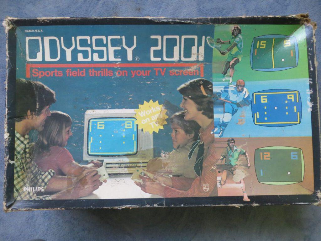 Odyssey 2001 - Box