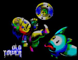 Old Tower - Ladescreen