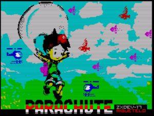 Parachute - Ladescreen