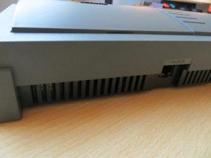 Philips CDi 450 Rückseite Stromanschluss