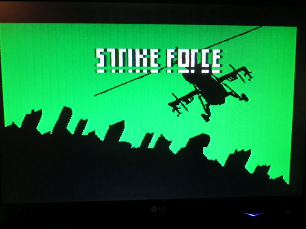 Philips Videopac - Strikeforce - Startscreen