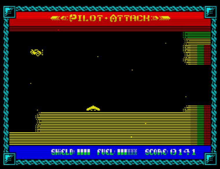 Pilot Attack - Screen