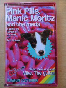 Pink Pills. Manic Moritz and the meds