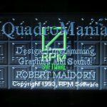 Quadromania - titelscreen
