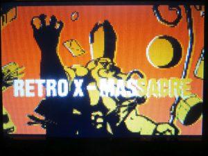Retro X-Massacre - Startscreen