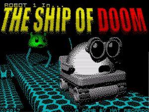 Robot 1 in .. The Ship Of Doom - Ladescreen