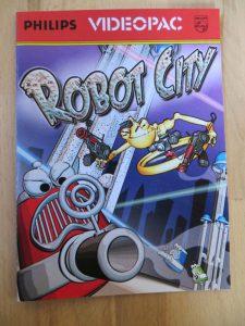 Robot City - Vorderseite