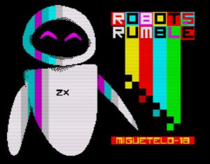 Robots Rumble - Ladescreen