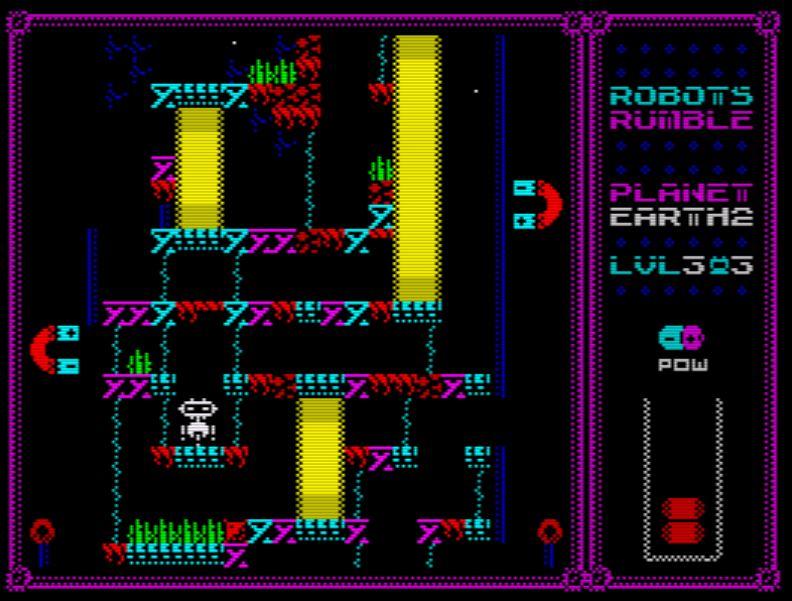 Robots Rumble - Screen