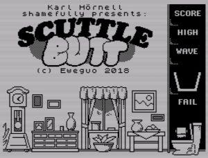 ScuttleBut - Startscreen