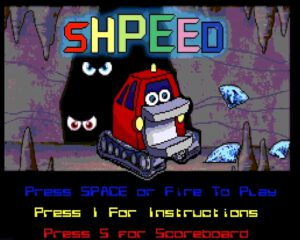 Shpeed - Startscreen
