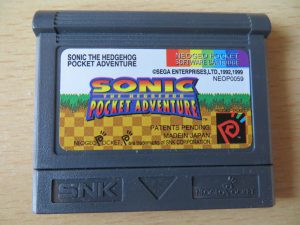 Sonic the Hedhog - Pocket Adventures - Cartridge