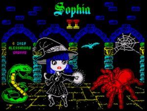 Sophia II - Ladebildschirm