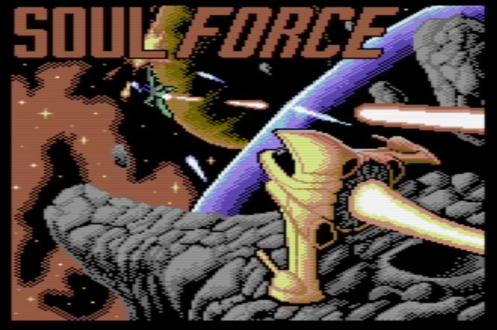 Soul Force - Titelbildschirm