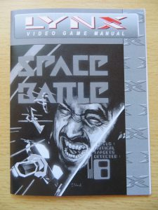 Space Battle - Video Game Manual