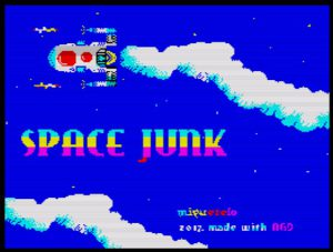 Space Junk - Ladescreen