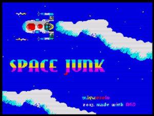 Space Junk - Ladescreen