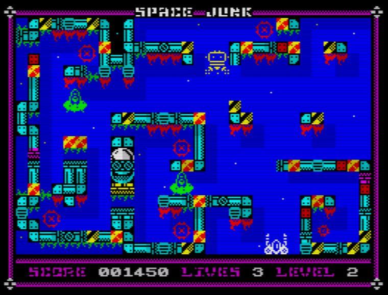 Space Junk - Screen