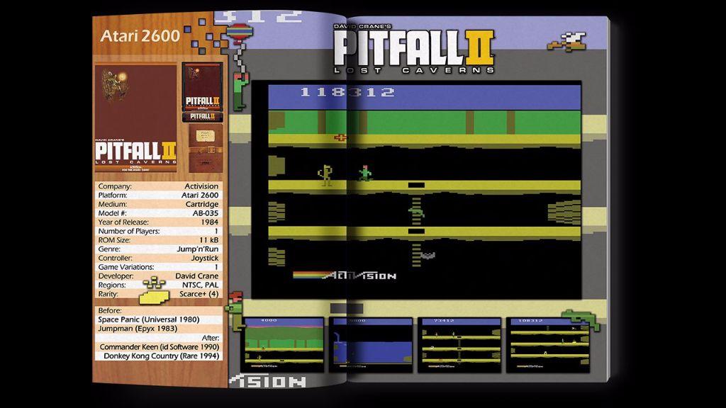 Games for ATARI - Atari 2600 Beispielseite