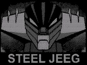 Steel Jeeg - Ladescreen