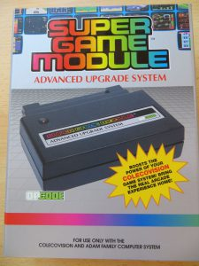 Super Game Module - Vorderseite