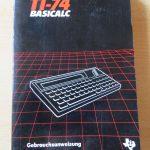TI-74 Basicalc - Gebrauchsanweisung deutsch