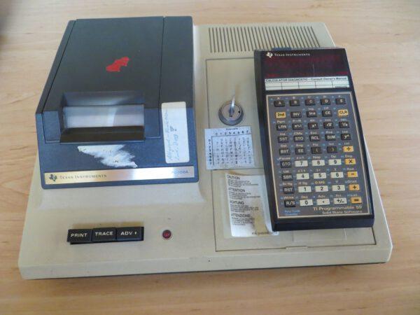 TI59 mit PC100A