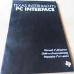 Texas Instruments PC Interface - Gebrauchsanweisung