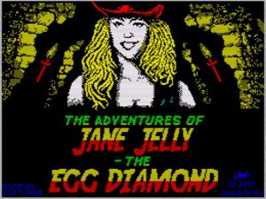 The Adventures of Jane Jelly - The Egg Diamond - Ladescreen