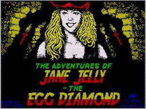 The Adventures of Jane Jelly - The Egg Diamond - Ladescreen