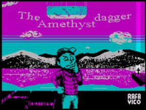 The Amethyst Dagger - Ladescreen