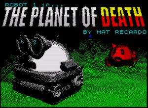 The Planet Of Death - Ladescreen