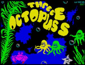 Three Octopuses - Ladescreen