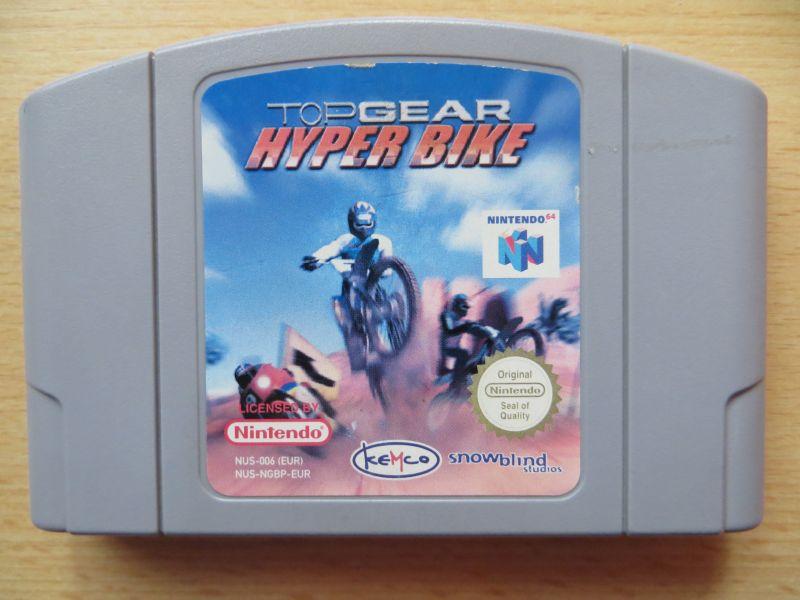 Topgear Hyper Bike