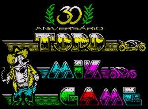 Topo Mix Game - Ladescreen