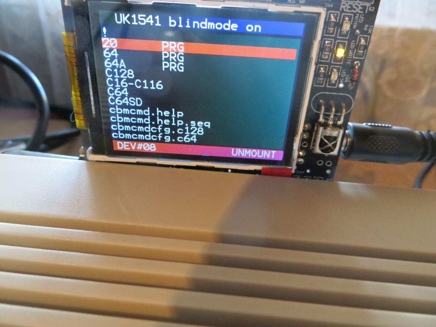 UK1541 - Blindmode on