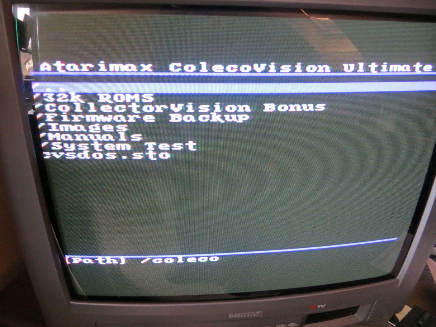 Ultimate SD Verzeichnis Coleco