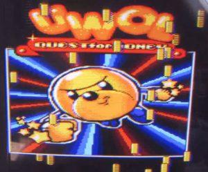 Uwol - Titelbildschirm