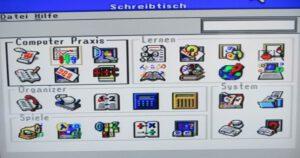 IQ TV 512 - Schreibtisch