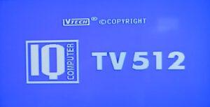 IQ TV 512 - Startbildschirm
