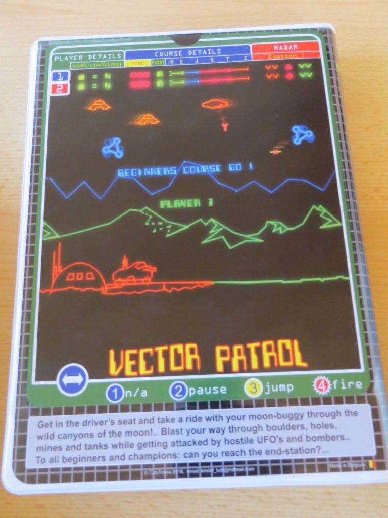 Vector Patrol - Rückseite