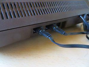 Videopac G7400 Joystick-Anschluss