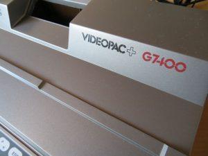 Videopac G7400 Schriftzug