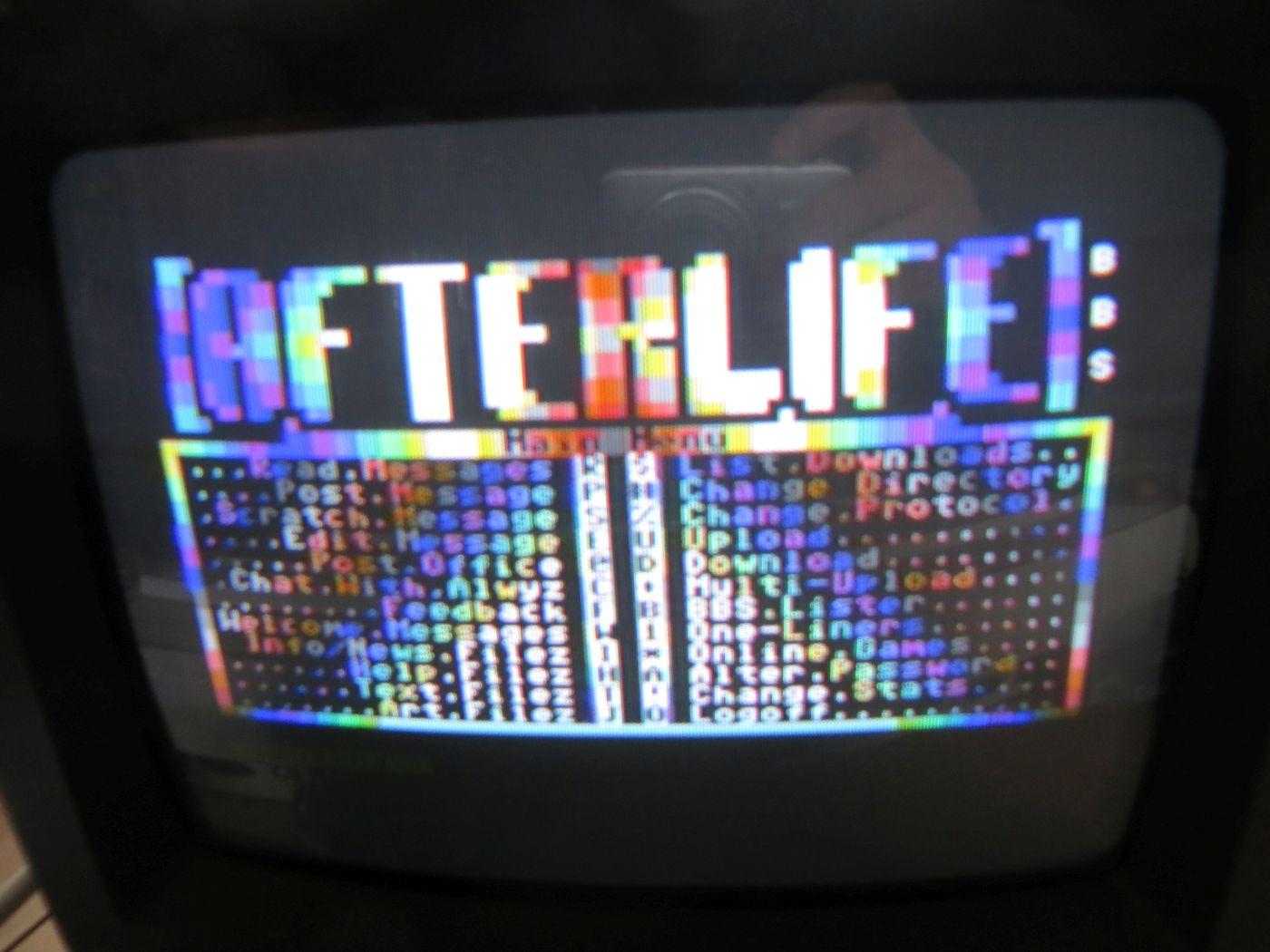 WiModem - BBS System Afterlife verbunden