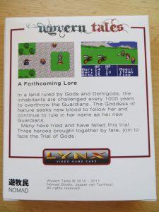 Wyvern Tales - Rückseite