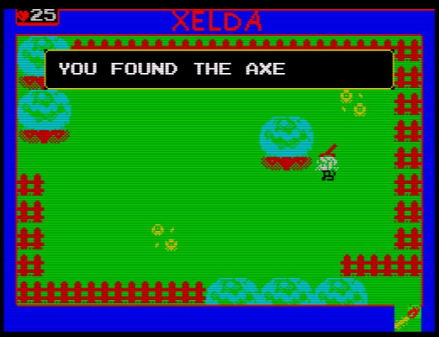 Xelda - die Axt des Huntsmen gefunden