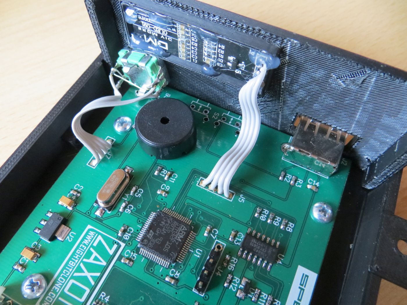 ZAX Drive Display Anschluss