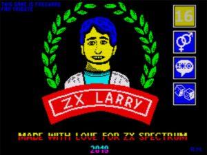 ZX Larry - Ladescreen